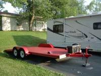 2008 Enterprise Car Hauler (Red) $2200 18 ft. dove tail