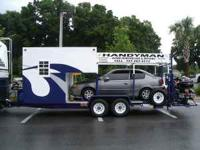 Carry your car, motorcycle, ATV's, Tools This hauler