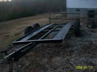 Car Hauler/ Trailer- Great for hauling cars and