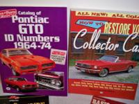 MOST OF THE MAGAZINES ARE HIGH PERFORMANCE PONTIAC FROM