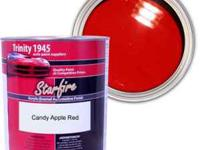 1 gallon, Trinity 1945 Starfire Candy Apple Red Acrylic