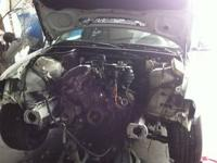 Parts only Black Toyota Supra, No interior Whole car