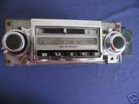 Car Radio Repair 1946-90 $100-$150 (1946-57 are $150,