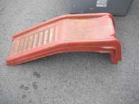 set of car ramps, . moving first 20 dollars buys them.