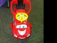 I am selling a Car's toddler ride on toy, the weather