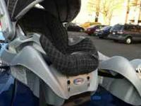 Car seat in great shape with an extra car seat base