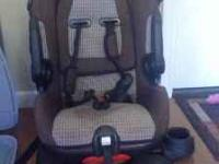 Summit car seat and Lion Heart car seat protector.