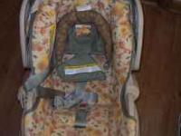 Graco Car seat bought brand new a year ago. It was our