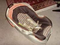 Infant Car Seat Graco (Brand) Used but still in good