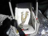 CAR SEAT-$5.00/ LITTLE GIRLS MAKEUP TABLE-$12.00/
