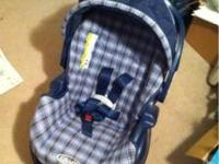 I am selling a used car seat and stroller combo with