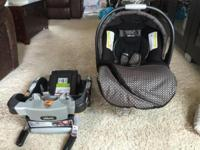 Chicco car seat 2015 brand new got 2 months ago used