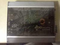 400 watt v 3 car sterio amp 4 channel $ 45   Location: