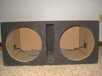 "Atrend 12"" Dual Venterd Sub Encloser Local Pickup Only."