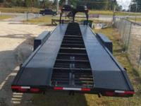Trailer has 36 ft of loadable space new paint, tires
