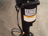 Trail Star electrical trailer tongue mounted jack. NEW