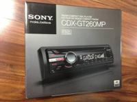 CAR STERO SONY CD PLAYER 52WX4 $55 TV TOSHIBA 50? LED