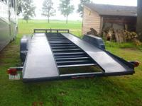 For sale   all steel 20 x  7 , tandem ax, electric