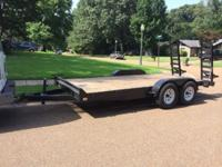 Used very little , 16' dovetail fold down ramps ,