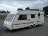 2/4 berth Front King Size Bed/Lounge Side Bunks with