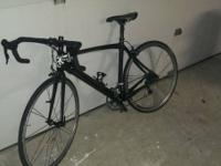 Full Carbon Fiber Roadway Bike 52cm, has roughly 500