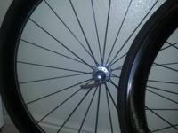 ENVY Classic 45 Carbon Wheelset. Really nice shape.