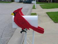 I have cardinals I have made, put a couple of on your