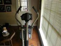 Im selling my new cardio duel trainer elliptical bike