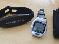 Brand new heart rate monitor by CardioSport. Never used