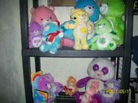 i have 7 boxes and 2 large care bears in good shape and