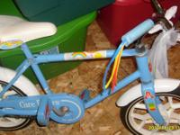 Care Bears Vintage Bicycle Floor to bar -- 17 inches