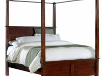Carey Bedroom Set features real hardwoods consisting of