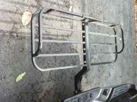 have a cargo carrier that goes in hitch brand new never