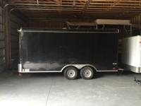 2014 Enclosed Cargo Mate Trailer 16'L x 8.5'W. Ramp