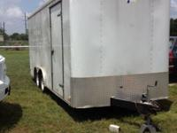 Speed American 8ft. by 20 ft. Cargo sport trailer with