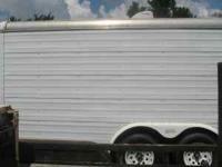 14 ft cargo trailer in good shape new tires 2600.00 obo