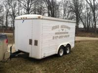 '93 Speed American Item Trailer. Fit, easy to draw. We
