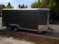Customized constructed 2008 Wells Cargo trailer. Z