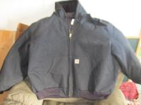 Carhartt Hooded Jacket Black 4XL Like new only been