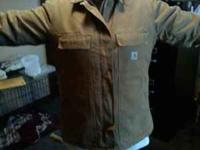 I have a women's carhartt jacket forsale. The jacket is