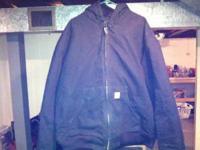 Carhartt Duck active jacket size XXXL. Only worn a