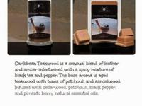 CARIBBEAN TEAKWOOD is a sensual blend of leather and