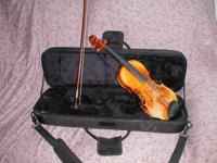 For sale is a very nice 2008 Carlo Lamberti violin with