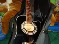 This guitar was bought a few years ago, never has been