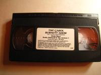 Carol Burnett VHS-- The Collector's Edition.$4.  Over 2