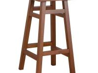 Our O'Malley Pub stool is handcrafted from 100% solid