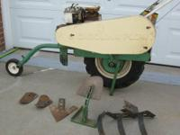 5HP Briggs & Stratton Engine. The Carolina Plow is the