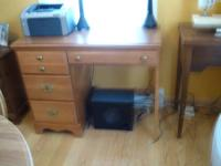 Carolina maple desk  in exc. cond.$150. Paid $300 new.