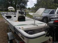 2008 carolina skiff 16j with a  2008