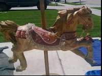Collectible Carousel Horse for sale - good condition.